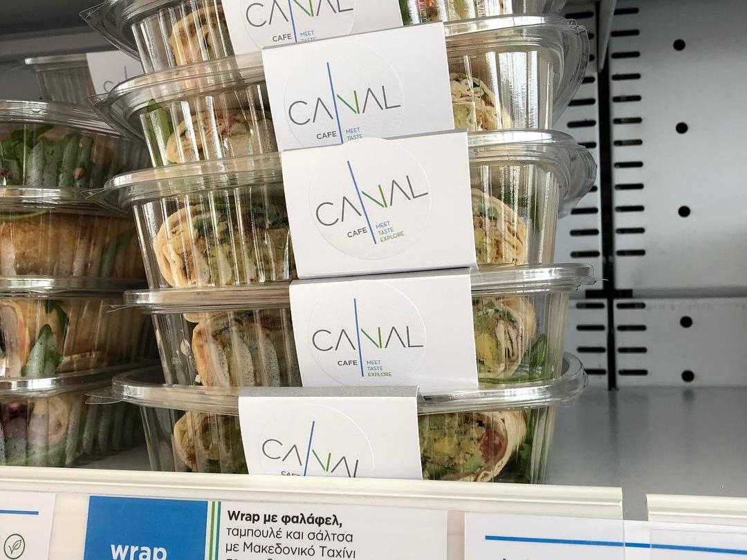 Νηστίσιμα και υγιεινά! Καλή Σαρακοστή @ CANAL CAFE at SNFCC